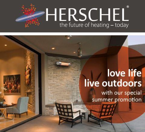 Herschel California 2kW Heater – for outdoor living