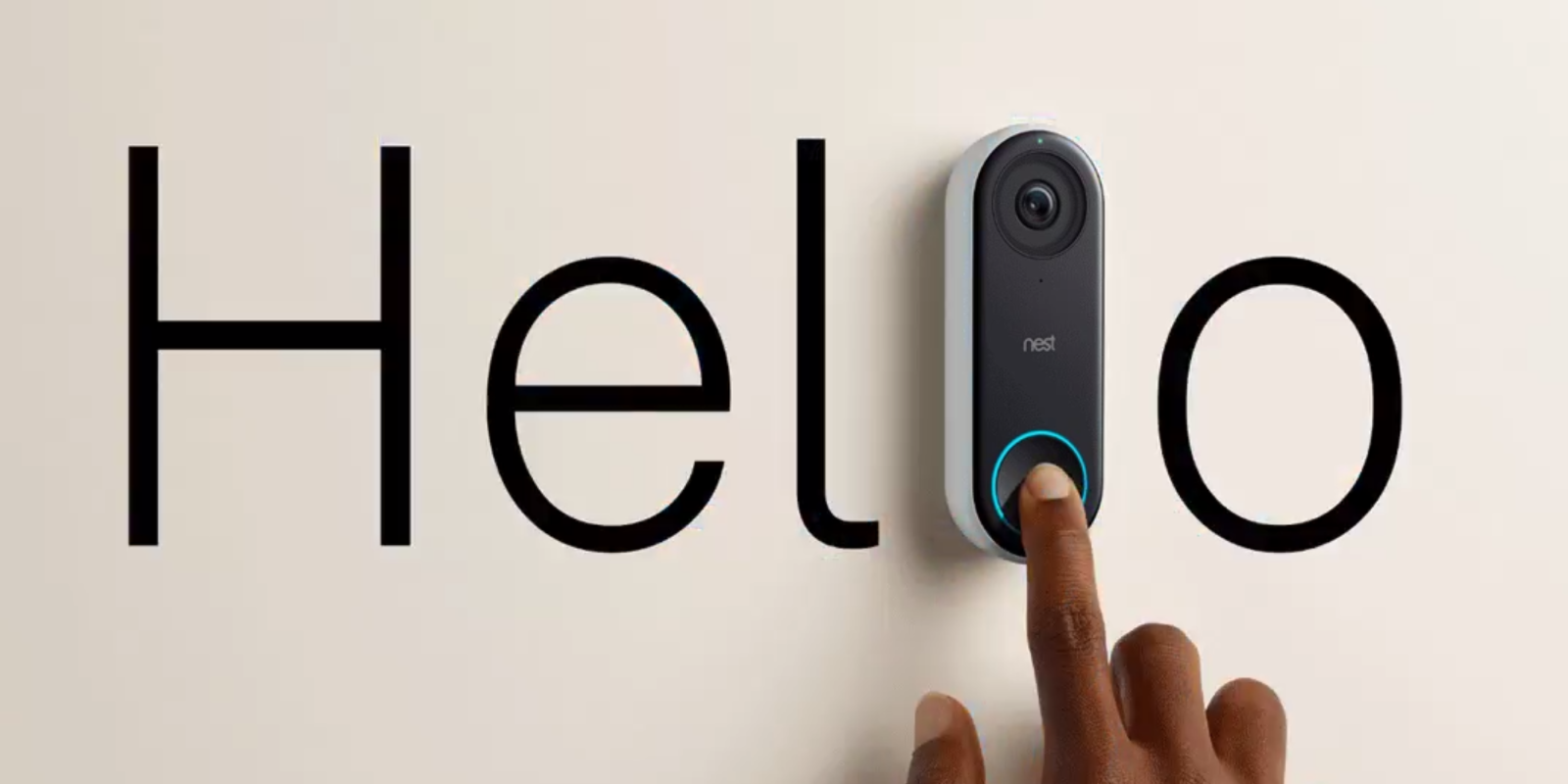Know who's knocking – Nest Hello