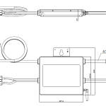 BPE dual 2 port microinverter - dimensions