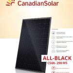 Canadian Solar 290w All Black Mono - Rexel Ireland - Kellihers Electrical