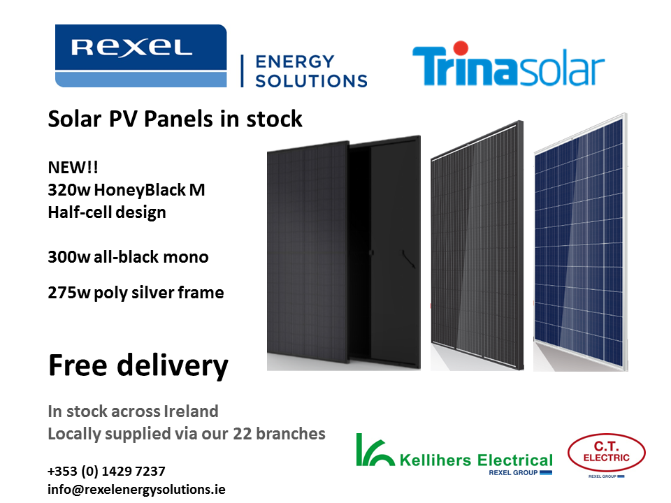 New TrinaSolar PV panels in stock - Rexel Energy Solutions