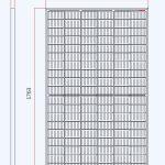 TrinaSolar 370w Mono - dimensions