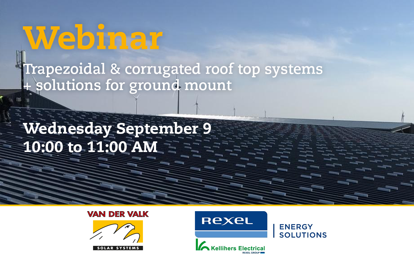 Webinar with Valk Solar – PV mounting solutions