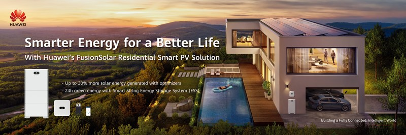 Home battery enables off-grid and fully sustainable living